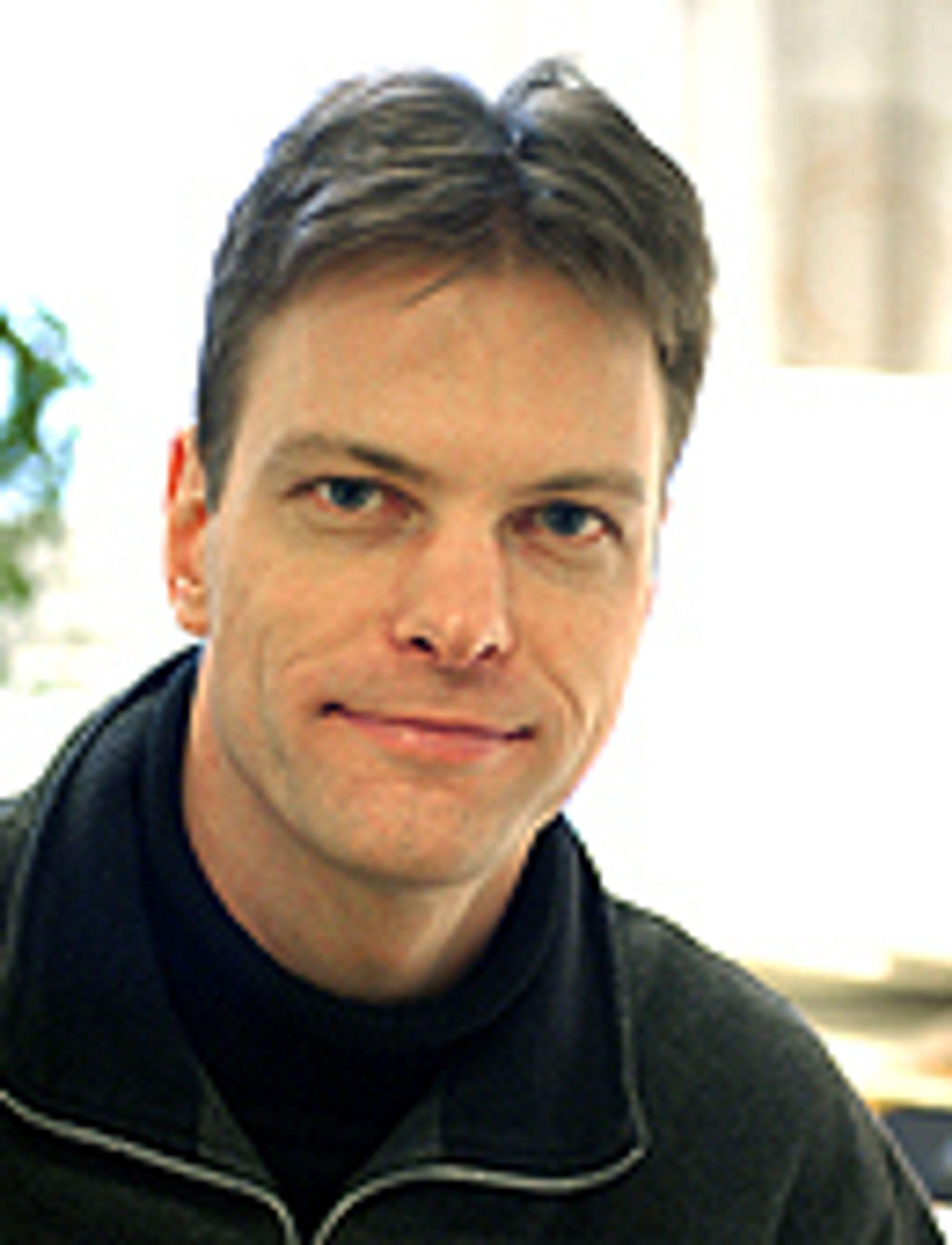 Tommy Svensson, førsteamanuensis i kommunikasjonsteknologi ved Chalmers Tekniske Högskola i Gøteborg.
