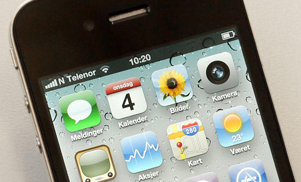 Kan det friste med en Iphone som holder koken i over en uke?