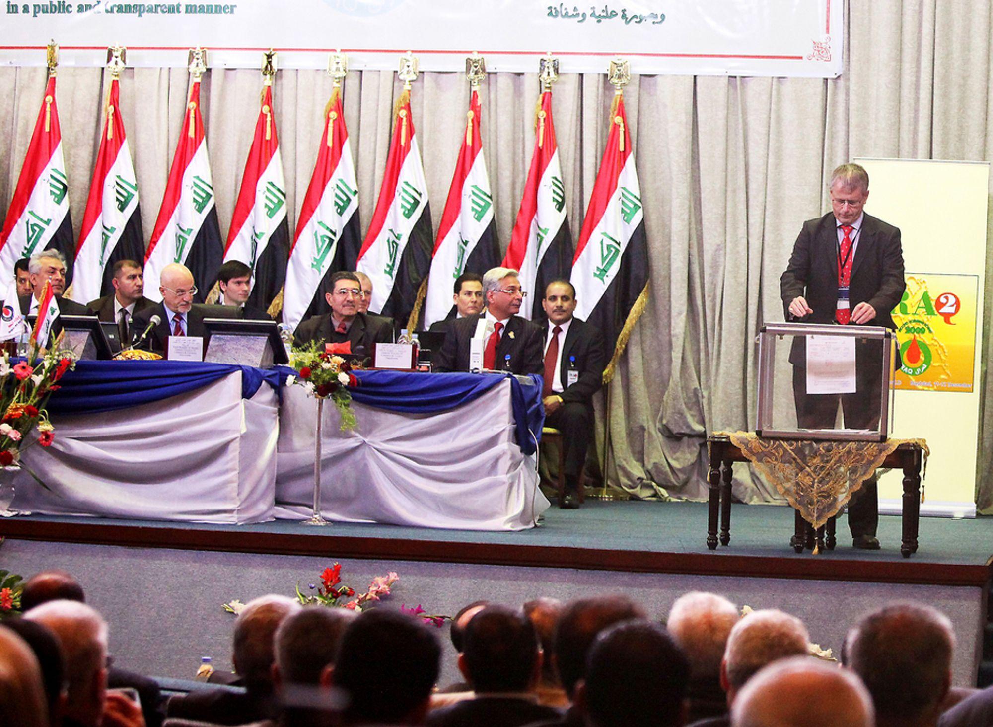 Det var stor entusiasme rundt Statoil og Lukoils Irak-avtale da den ble inngått i 2009.