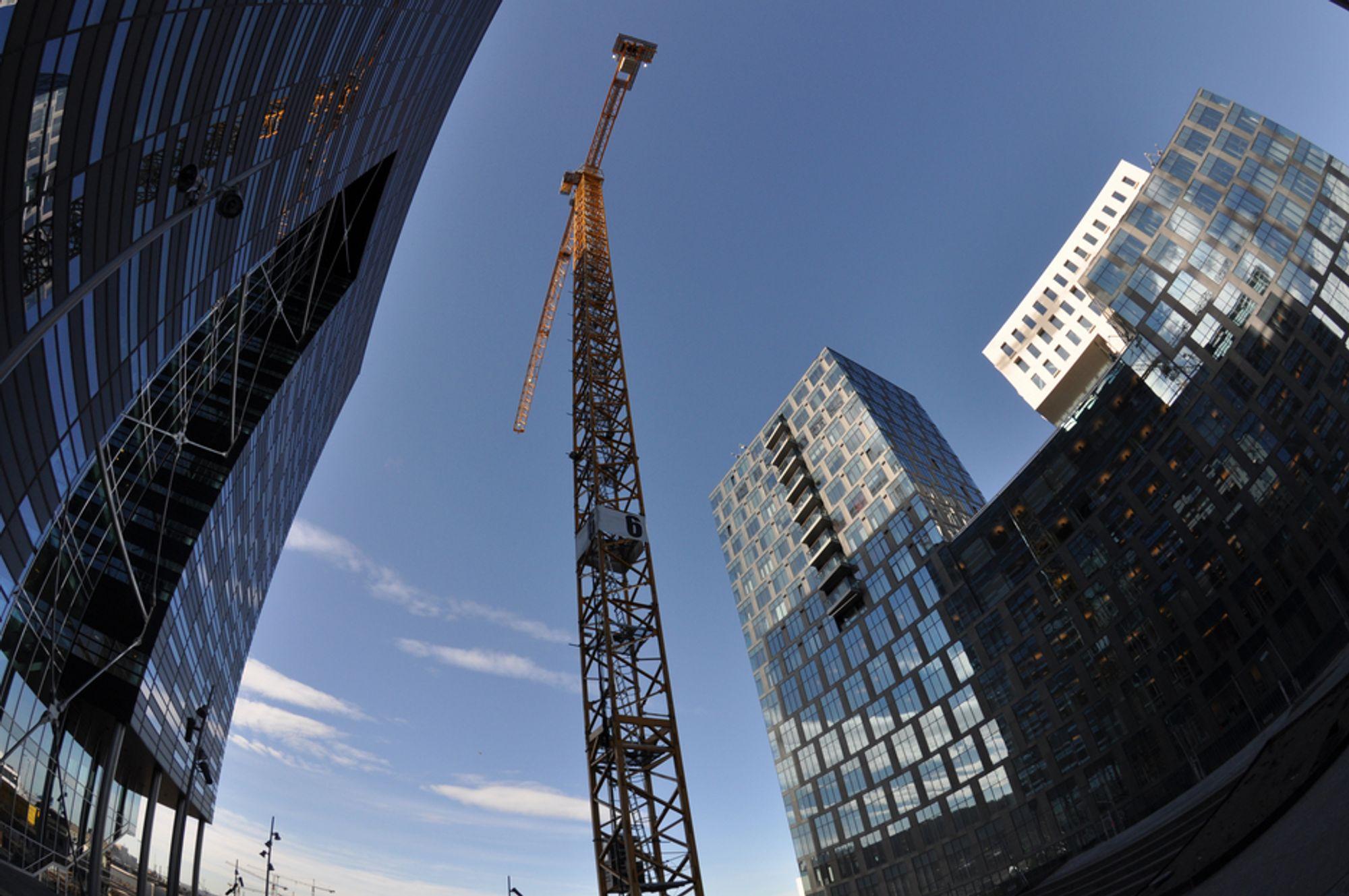 Den norske byggebransjen har mer enn god nok kompetanse til å bygge høyere, ifølge RIF-ekspert Øystein Løset.