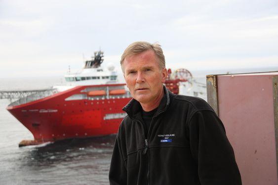 IRRITERT: Prosessteniker Bernt Roger Ramsvik på Norne FPSO fikk ideen til oljevernskip etter Full City-ulykken i juli 2009.