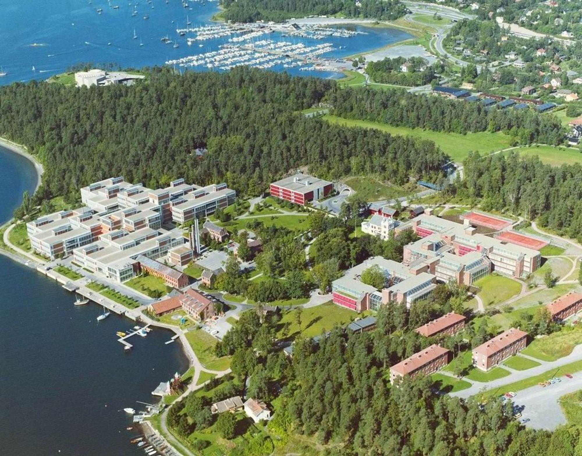 Illustrasjonsfoto: Det Norske Veritas'  hovedkontor på Høvik.