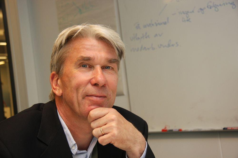 MERKENAVN: Morten Engh mener både RIF og bedriftene må bli fllinkere til å bygge merkenavn.