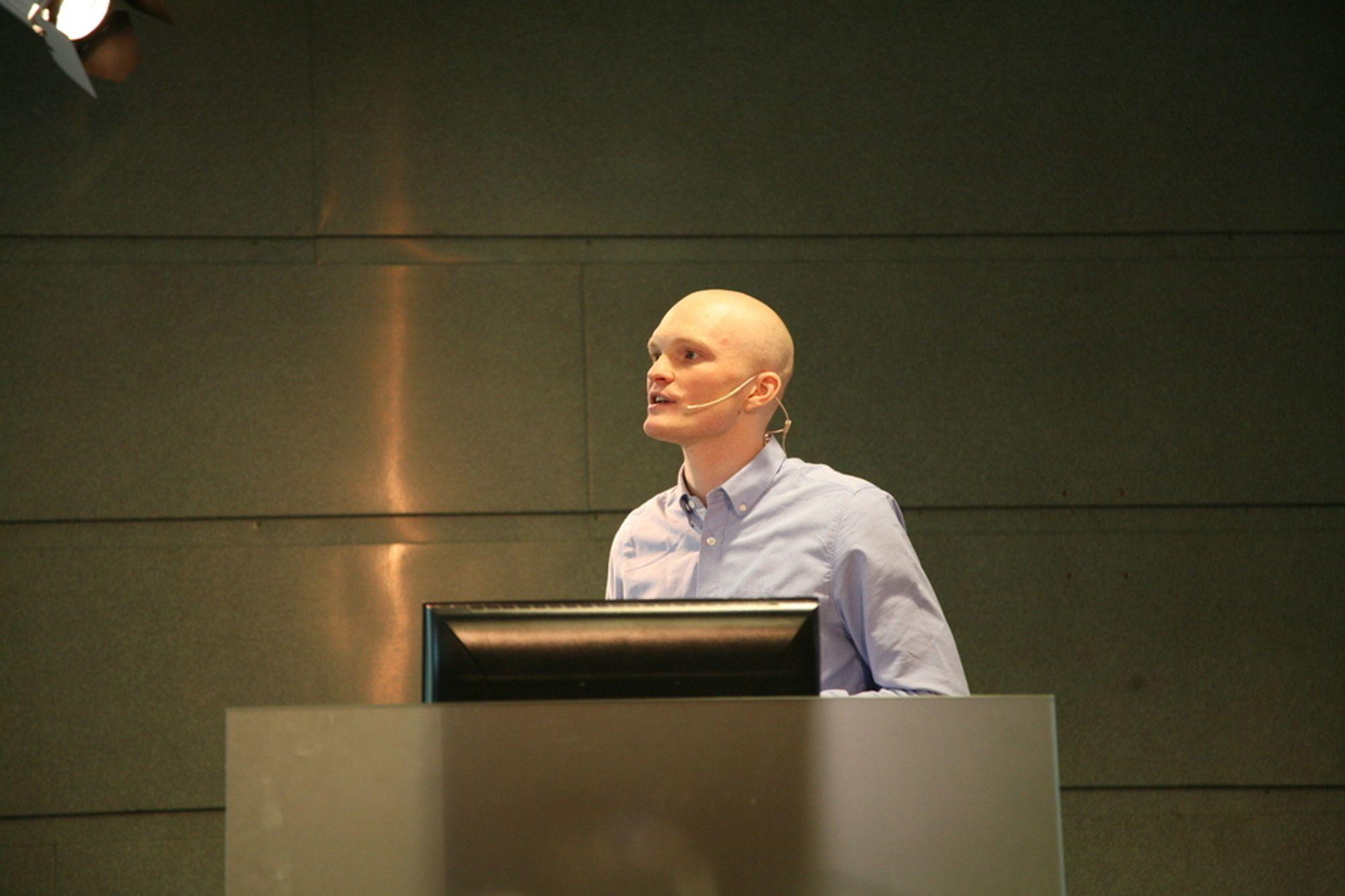 MATTE: Fredrik Jensen mener en av suksessfaktorene er at Ent3r spiller på flere strenger.