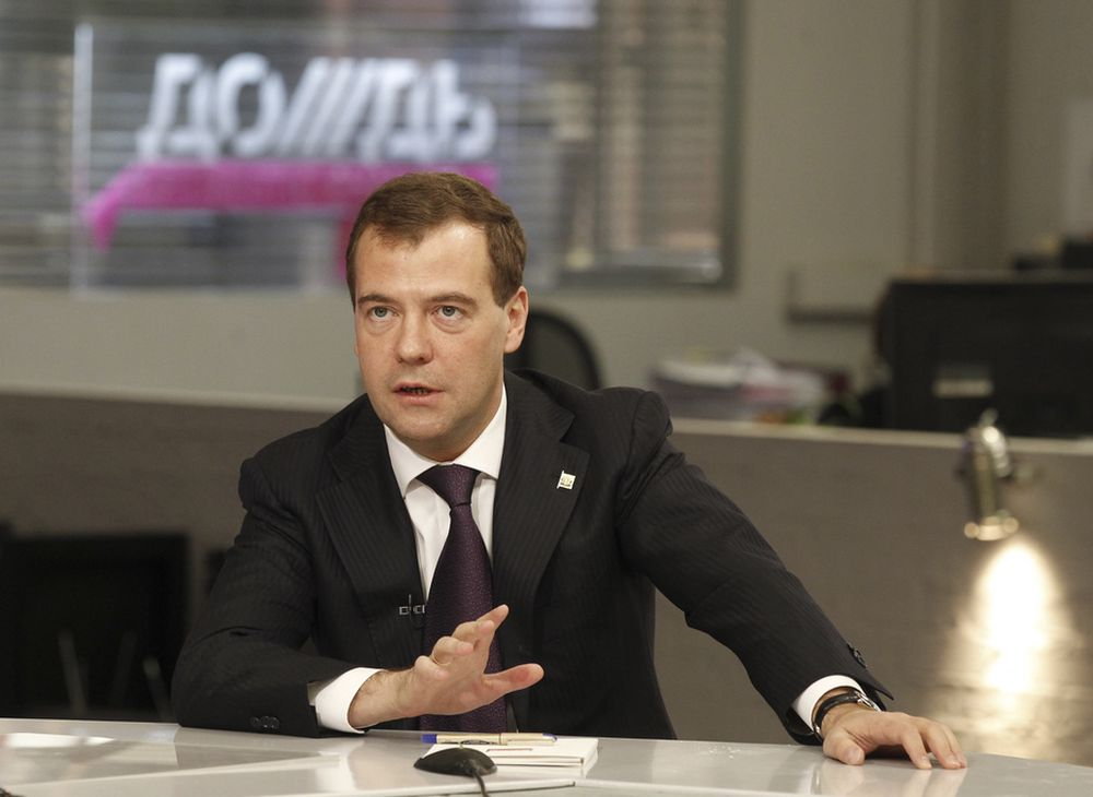 Russlands president Dmitrij Medvedev ønsker å bedre sikkerheten ved verdens atomkraftverk.
