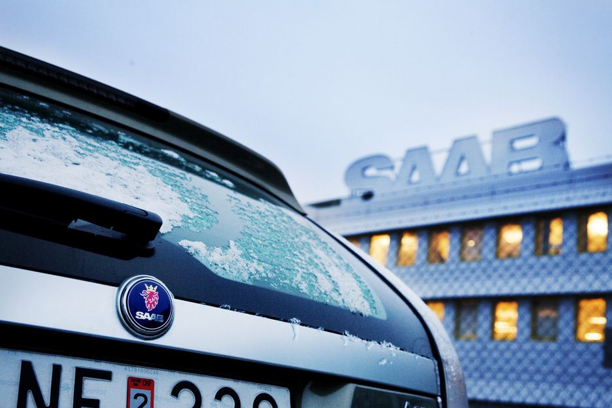 SNART NORSK?: Den norske regjeringen har allerede besøkt Saab-fabrikken i Trollhättan, melder avisa Expressen.