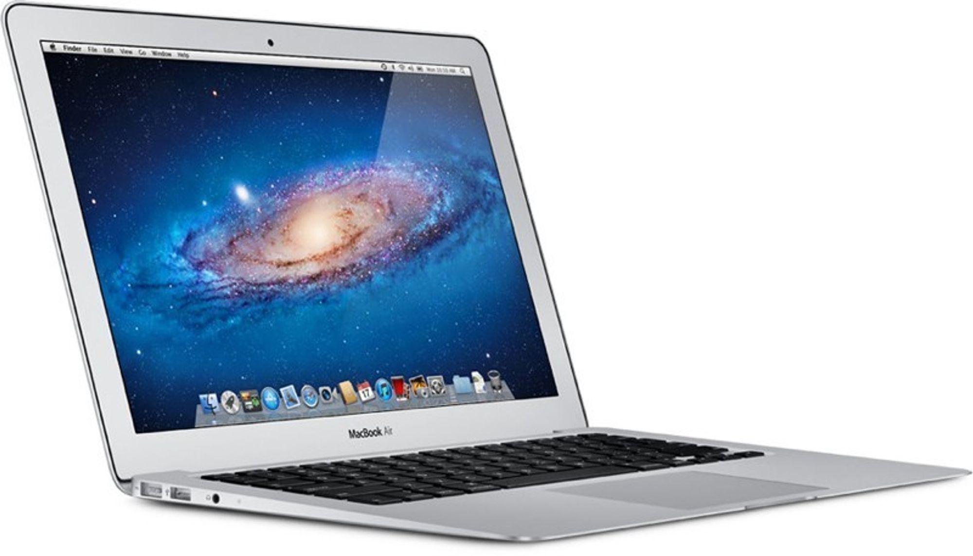 Macbook Air får nye prosessorer og lavere pris.