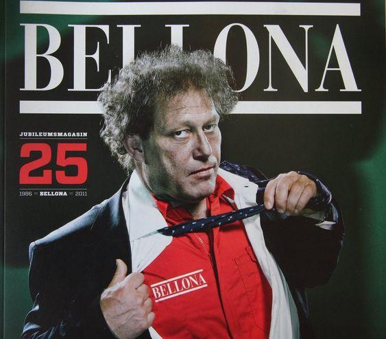 Bellonas 25-årsmagasin.