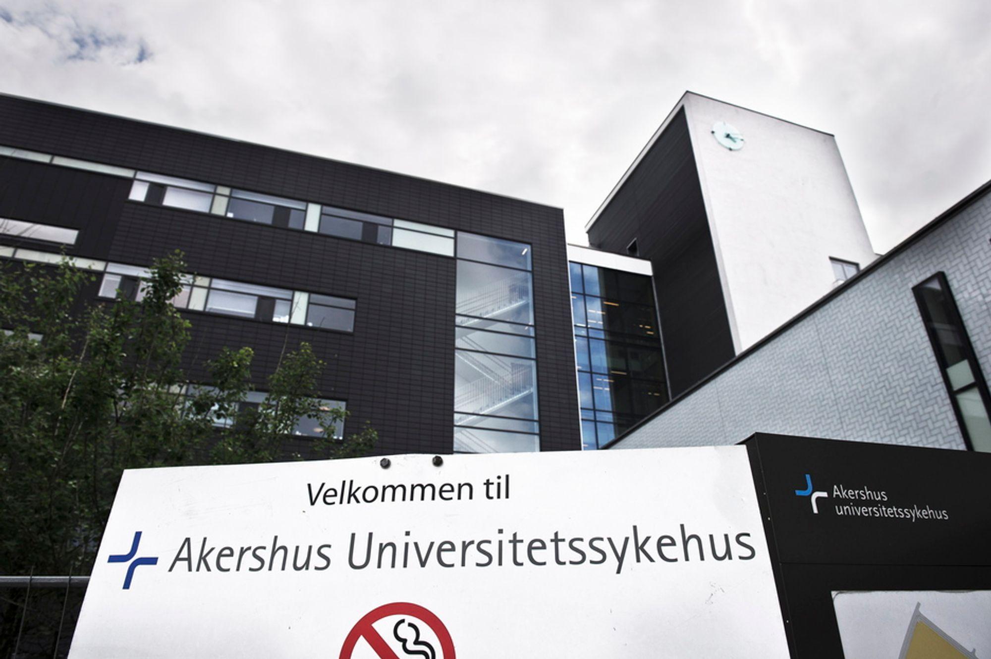 Ustabile datasystemer truer pasientsikkerheten ved Akershus universitetssykehus på Lørenskog.