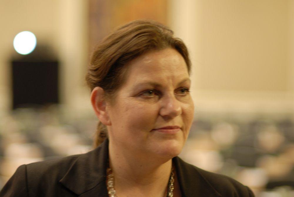 VIL HA KABLER: Høyres energipolitiske talskvinne Siri A. Meling mener de er mulig å bygge kraftkabler til kontinentet raskere enn det Statnett hevder er gjennomførbart.