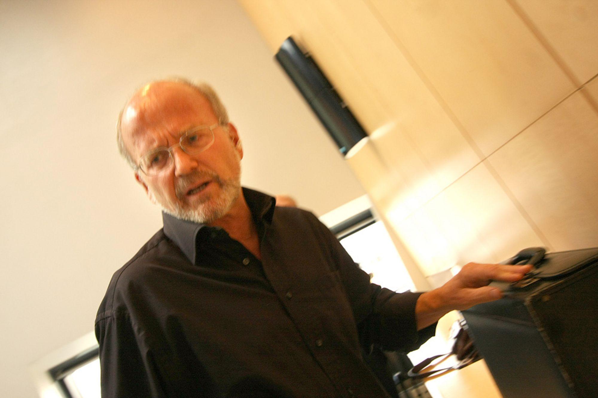 Varsler: Den erfarne oljemannen Rolf Wiborg beskylder sin egen ledelse for å ikke følge lover og regler.