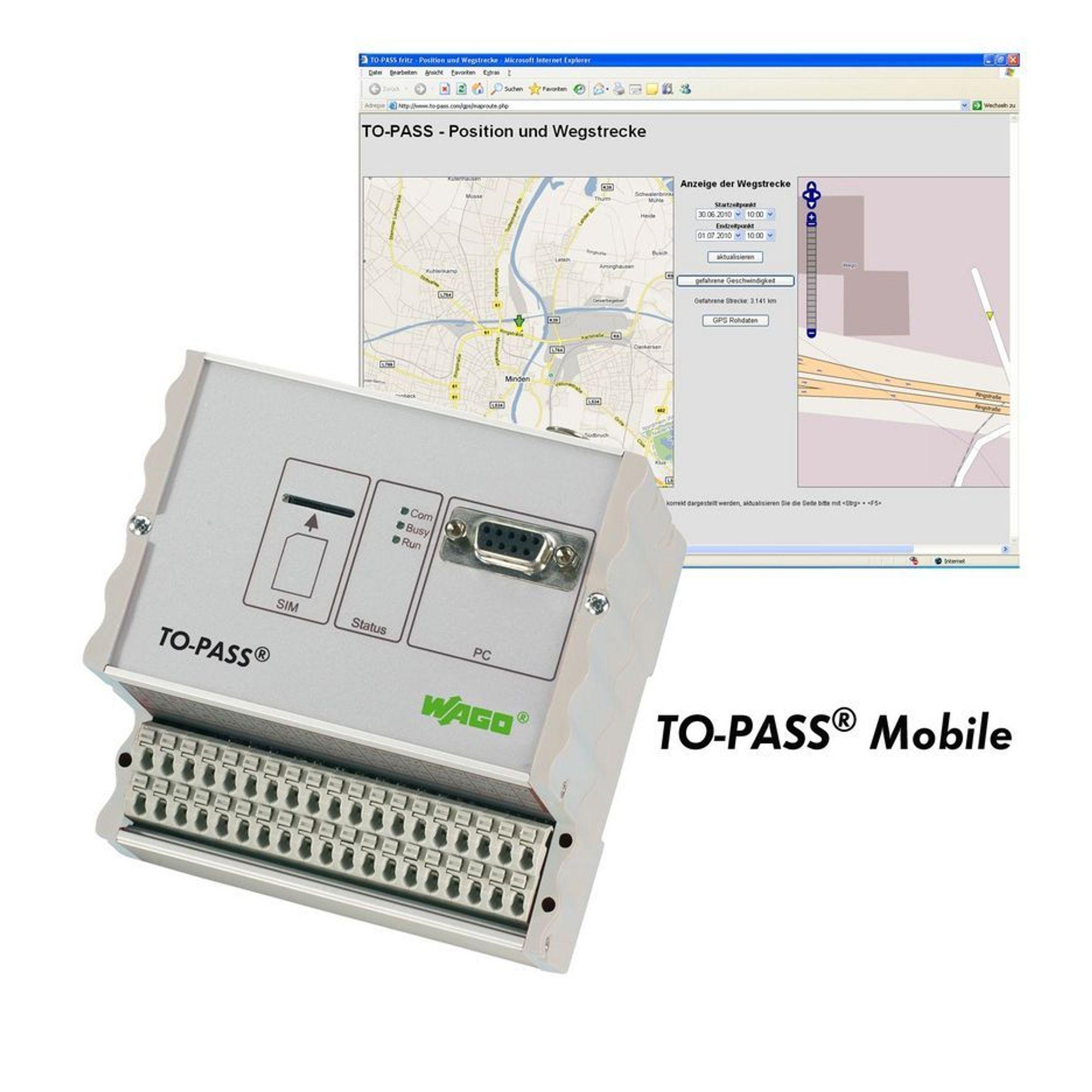 Alarm og GPS i ett