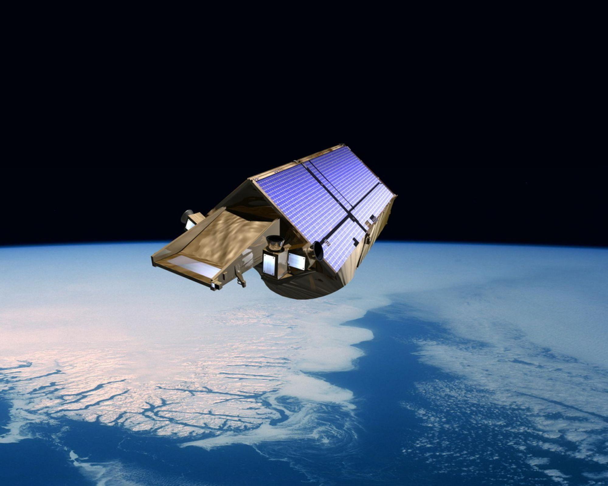 En gammel satellitt er på vei mot jorden, men ingen vet helt hvor den vil treffe.