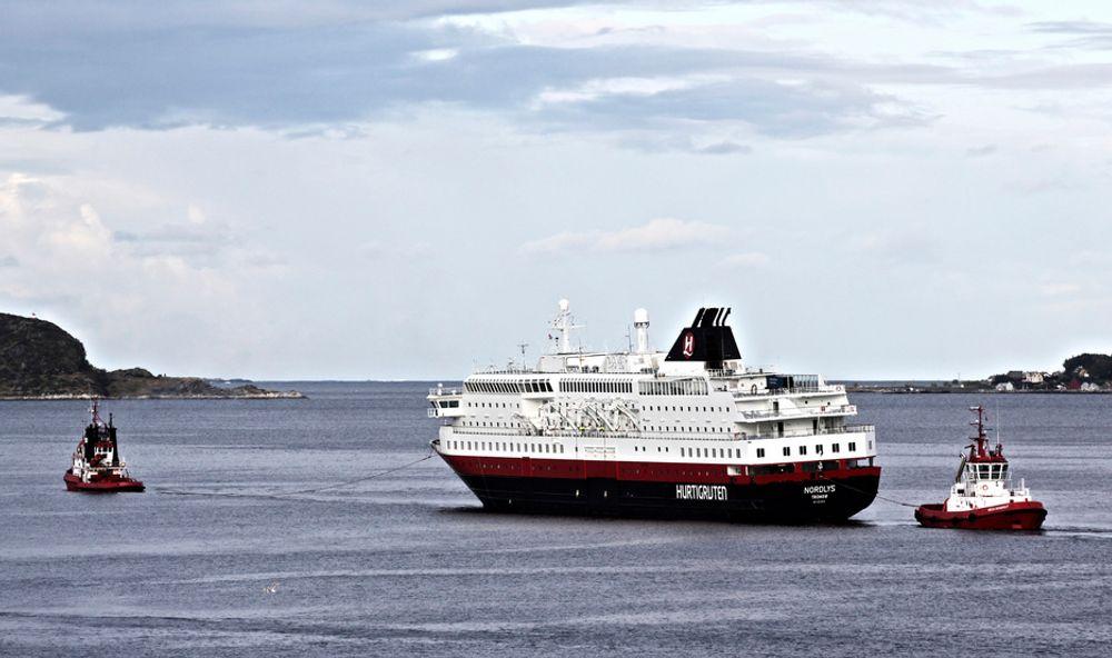 Skrekken: Motorbrannen om bord på hurtigruteskipet Nordlys i 2011 var svært alvorlig. Direktoratet ser med bekymring på at det er registrert flere branntilfeller på norskregistrerte skip i 2013.