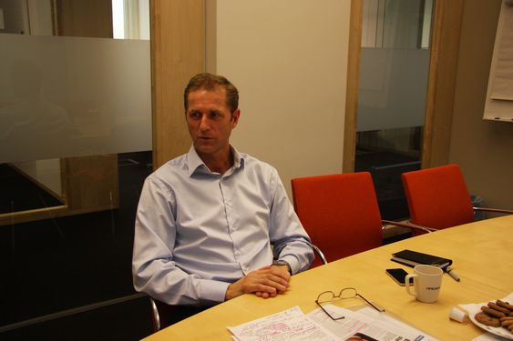 Petter Moe, administrerende direktør Peab Norge AS