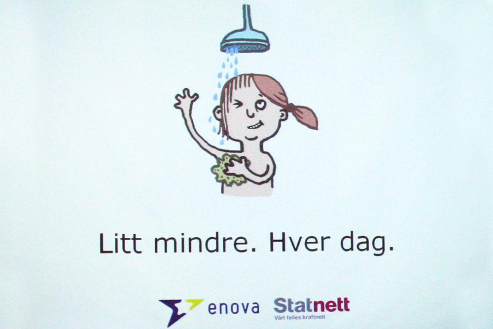 """""""Litt mindre, hver dag"""" er slagordet i Enova og Statnetts strømsparingskampanje. Foreløpig konstaterer de rekordmange henvendelser."""