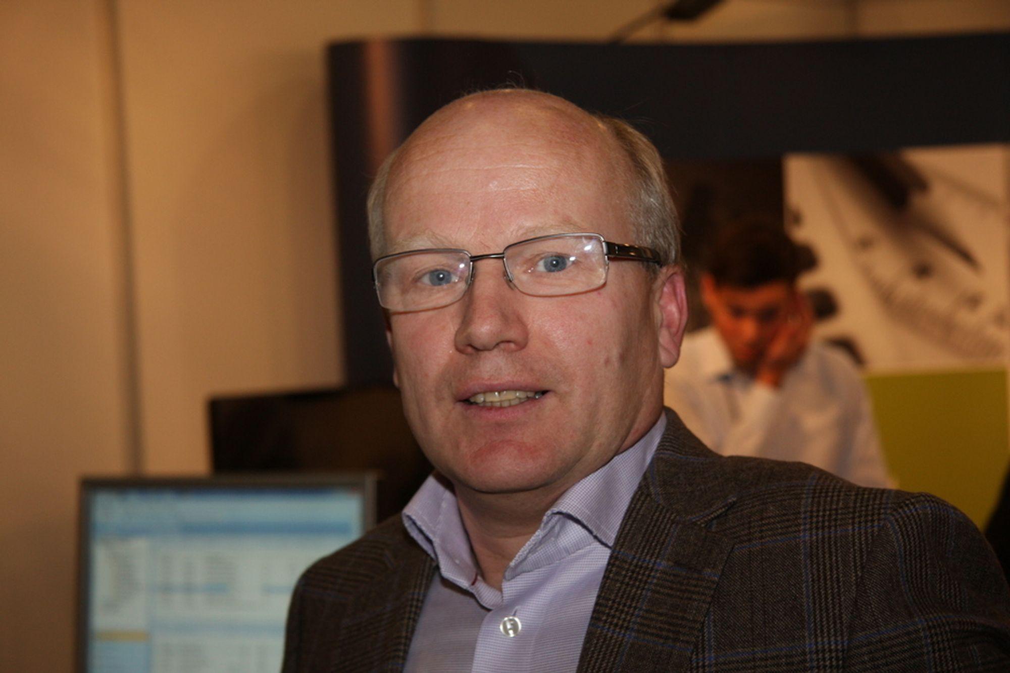 STORE INVESTERINGER: - Forsvarsbygg skal satse milliarder med hovedvekt på Nord-Norge de neste årene, sier prosjektdirektør Hårek Elvenes.