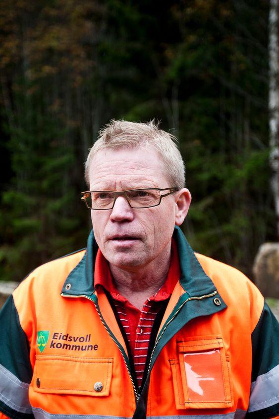 Helge Eliassen, virksomhetsleder for kommunal drift, Eidsvoll kommune.