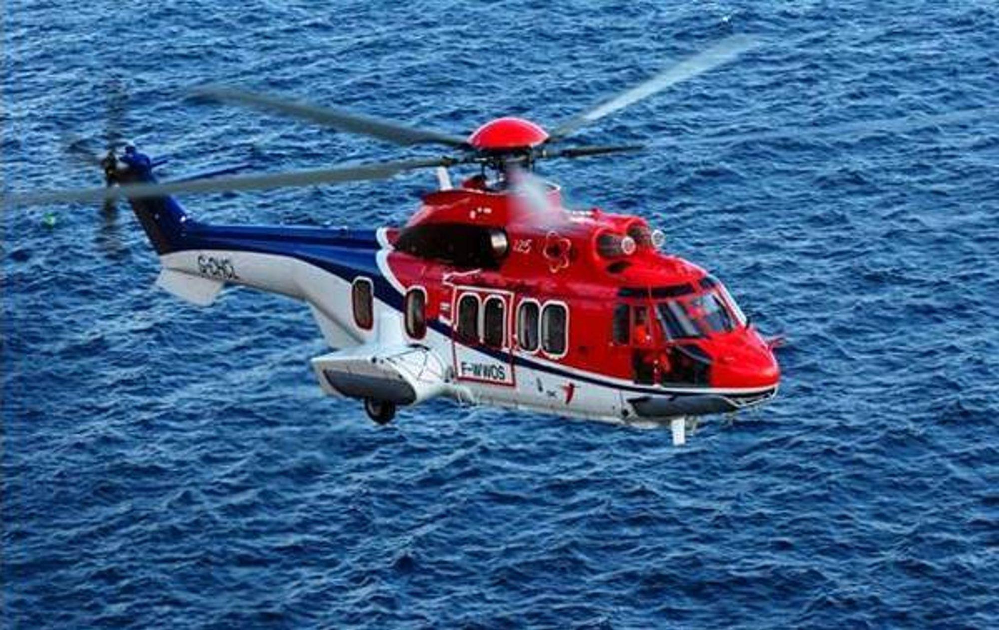 Et helikopter av typen EC225 måtte nødlande på Åsgard B-plattformen torsdag ettermiddag.