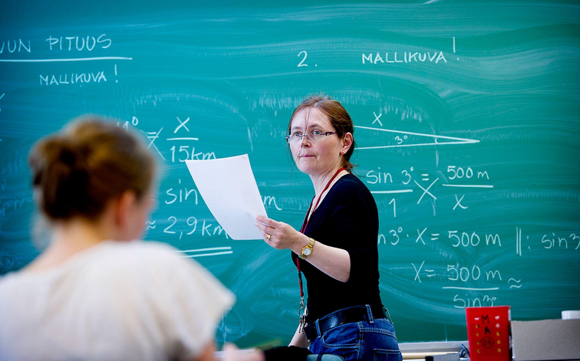 Finskene gjør det alltid bra i PISA-undersøkelsen, men mener selv de ikke er spesielt gode i matte.