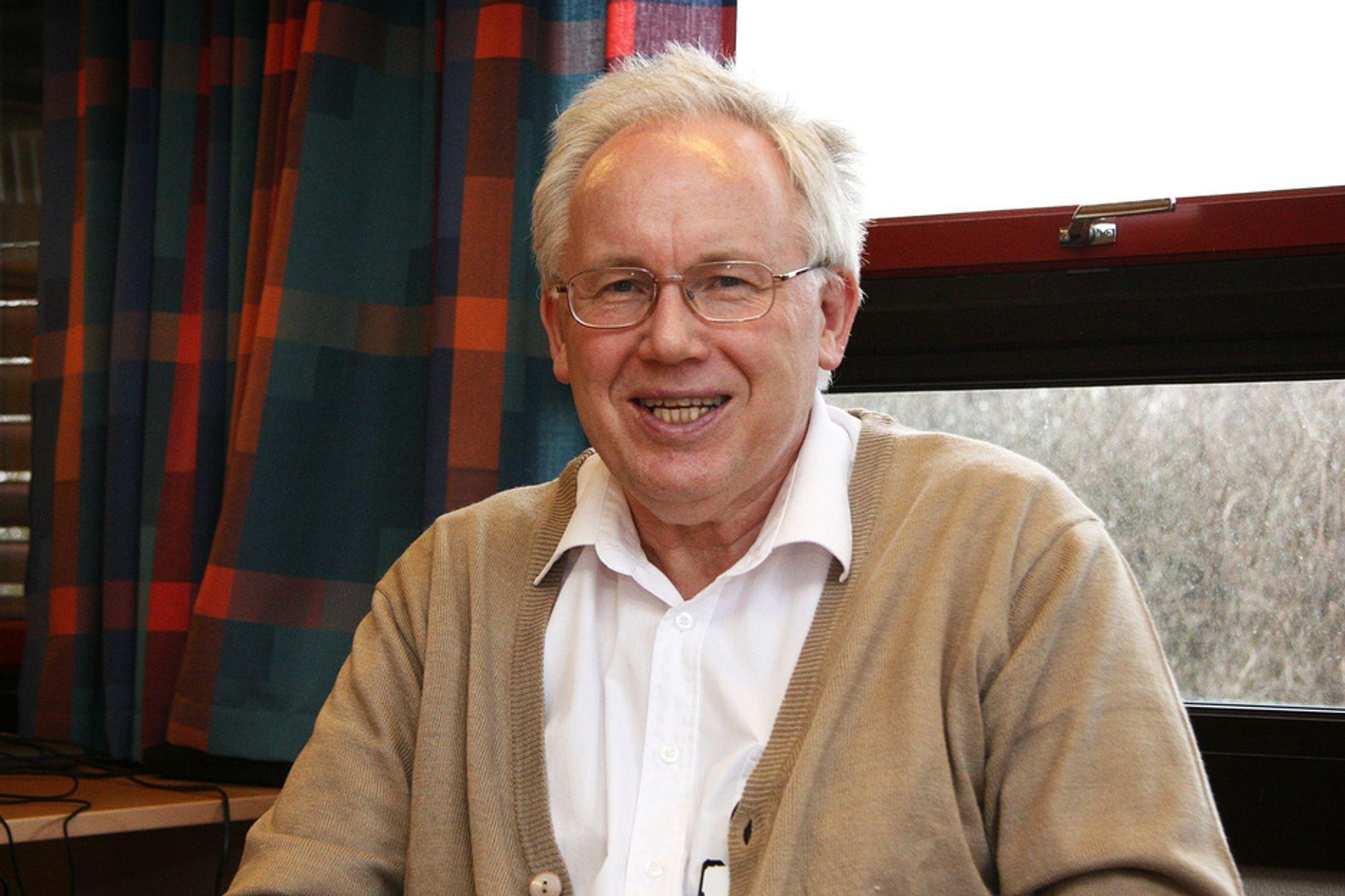 STYRER: Jan Halstensen er styreleder i BNL. Nå vil han endre organisasjonen.