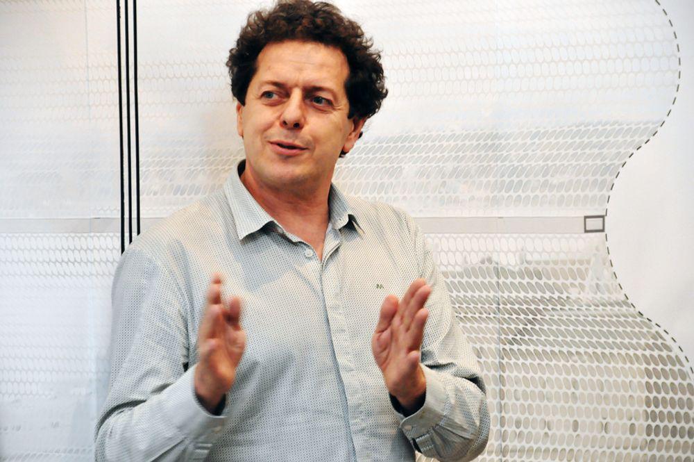 GIR IKKE OPP: - Jeg tror vi vil finne en løsning, og at denne løsningen vil vise at Lambda er det beste valget, sier Juan Herreros.