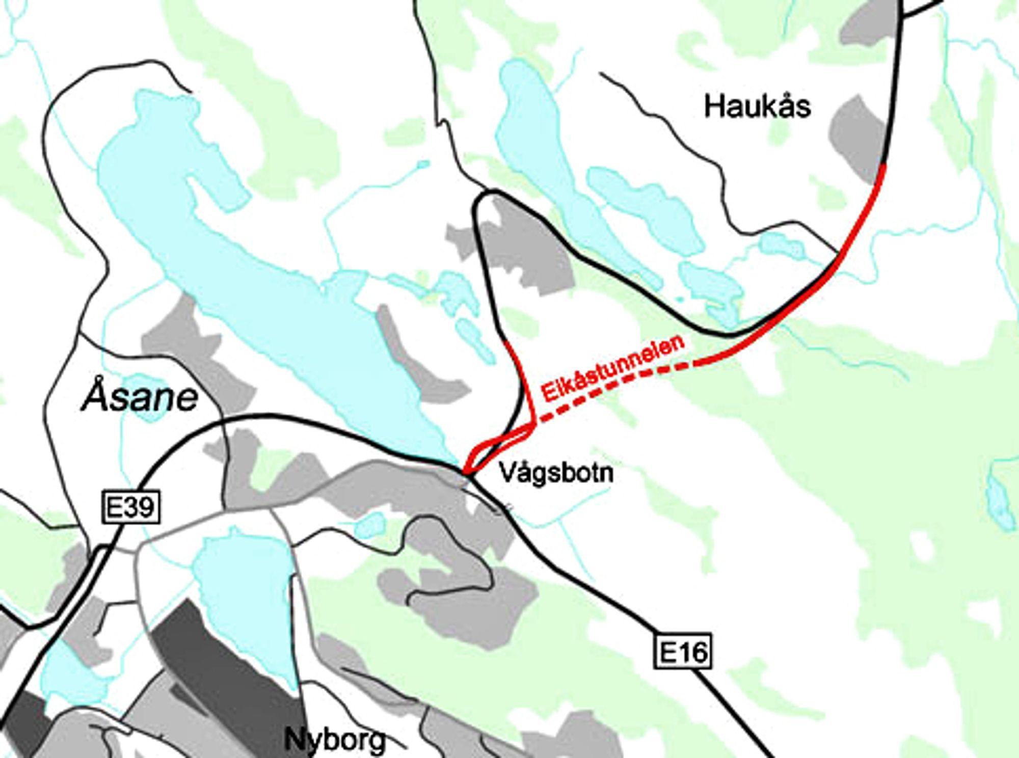 6. januar er datoen å merke seg for alle som vil drive Eikåstunnelen. Ill.: Statens vegvesen