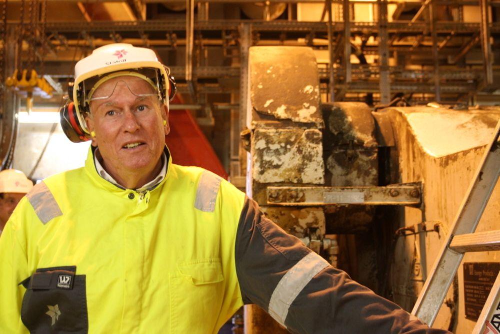 Roar Flåthen ble tatt med offshore til Brage-plattformen. Der ble han overbevist om at Statoil gjør sitt beste for å sikre produksjonen fra såkalte modne felt.