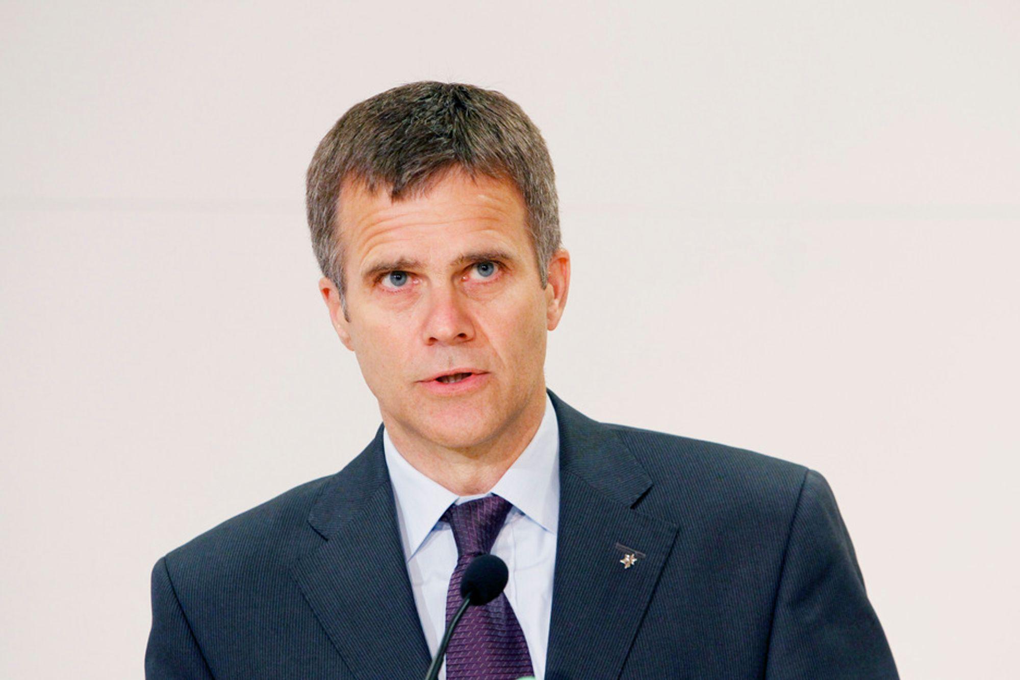 Statoil-sjef Helge Lund.