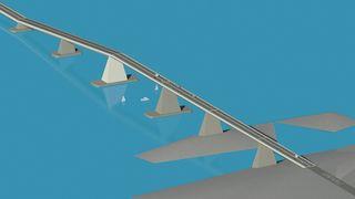 Denne broen kan bevege seg 600 meter