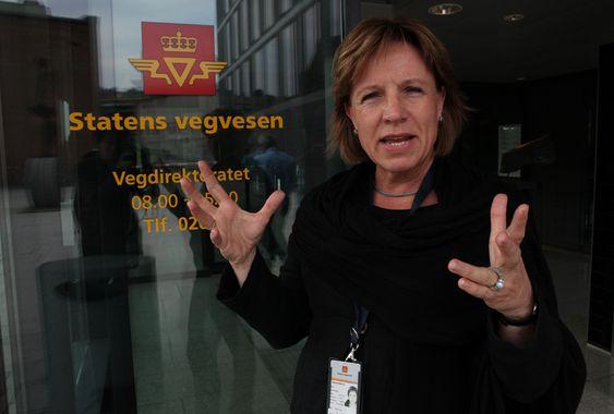 Marit Brandtsegg, direktør for Trafikksikkerhet-, miljø og teknologiavdelingen i Vegdirektoratet.