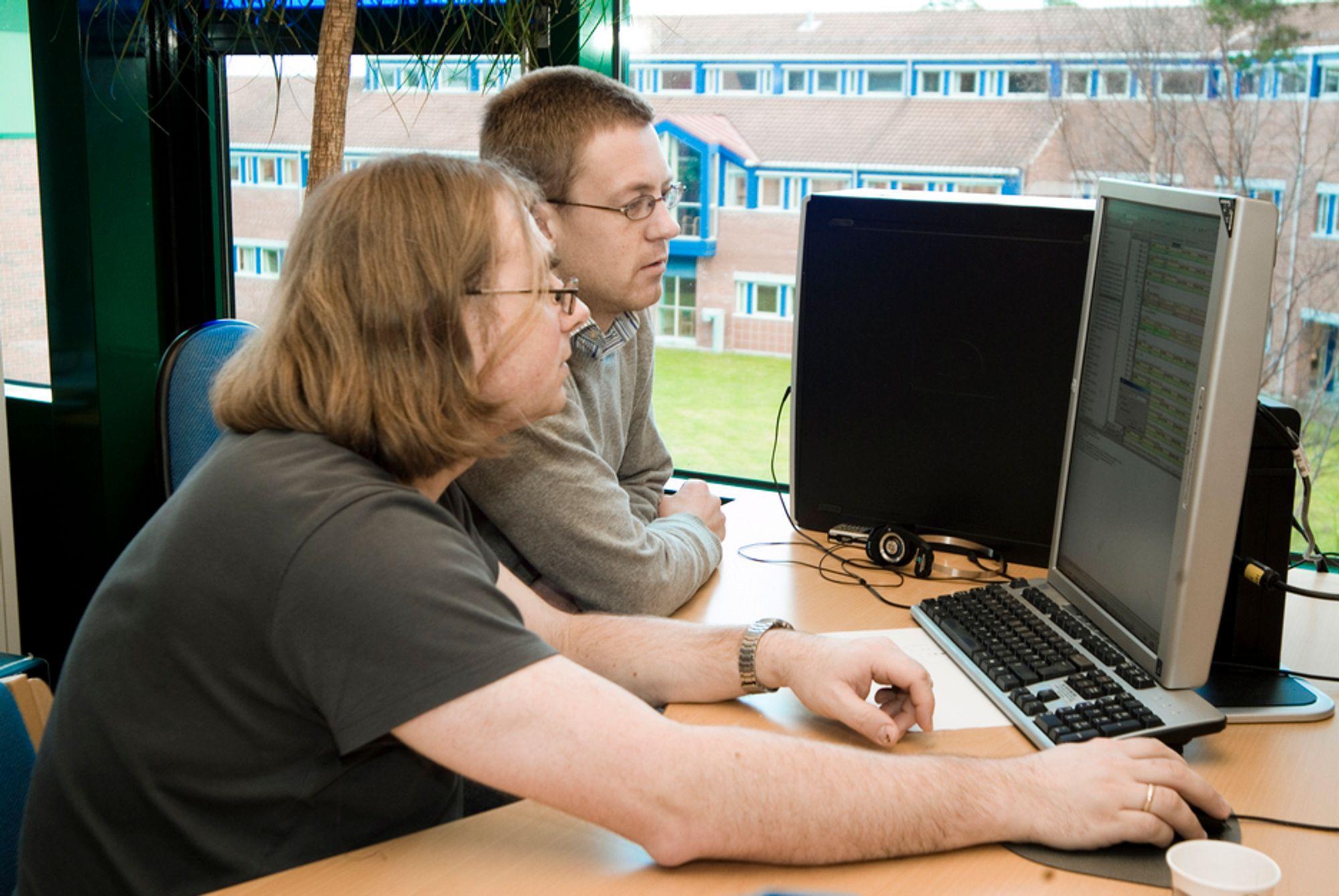 MER ENN LØNN: Ansatte hos Ericsson i Asker mener arbeidsgiveren burde se mer på stabens lønnsomme ideer og ikke bare på det norske lønnsnivået separat. Illustrasjonsfoto: Ericsson