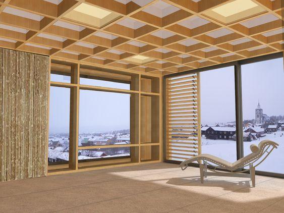 TRONDHEIM: Når konkurransen er over skal huset demonteres og settes opp igjen i Trondheim. Da skal det brukes i undervisningen og forskningen ved NTNU.