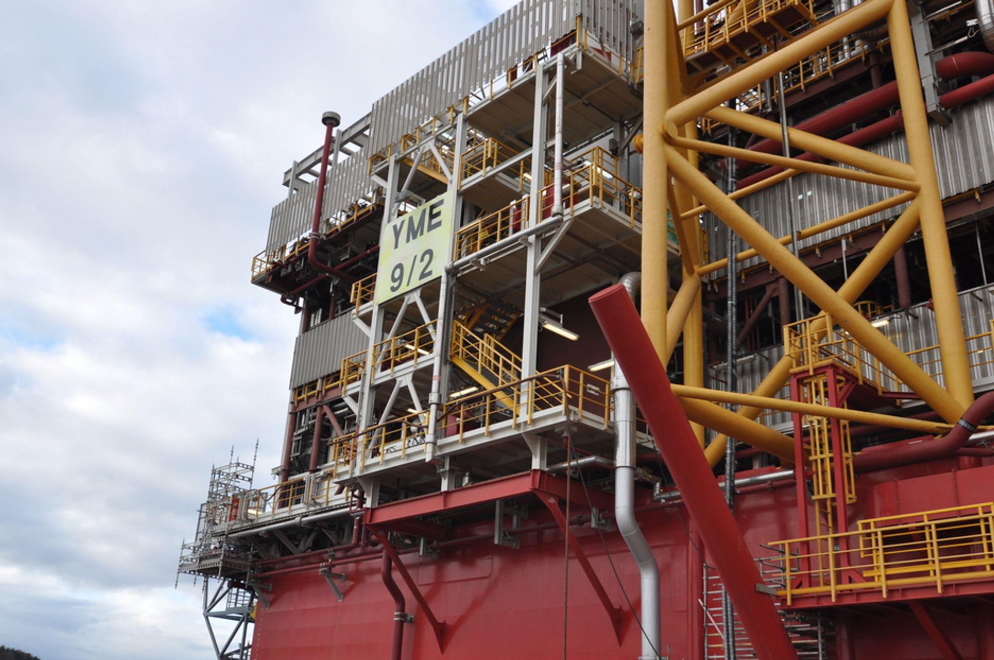 Petroleumstilsynet melder at Yme-prosjektet har et kraftig søkelys på seg.