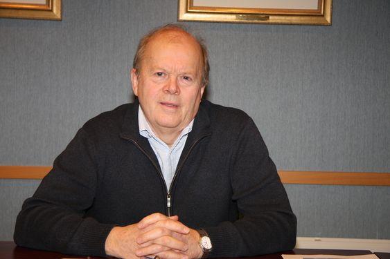 FORNØYD: Admiinistrerende direktør Terje Dyrseth i Brunvoll Thrusters er glad bedriften har langsiktige, industrielle eiere i Brunvoll-familien.