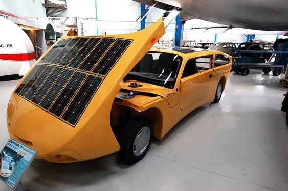 Prototype: Toria Connector 2001 skulle ha en solcelledrevet elmotor og en dieselmotor som gikk på planteolje.