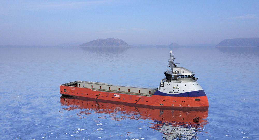 TO LIKE: Rederiet CBO betsilelr to Ulstein PX105 fra verftet Alianca. For Ulstein er kontrakten med design og utstyr verdt 150 millioner kroner.