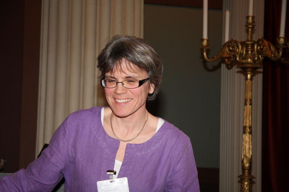 ROLIG: Borregaards forskningssjef Kristin Misund sier forskerne tar salget av bedriften med stor ro.