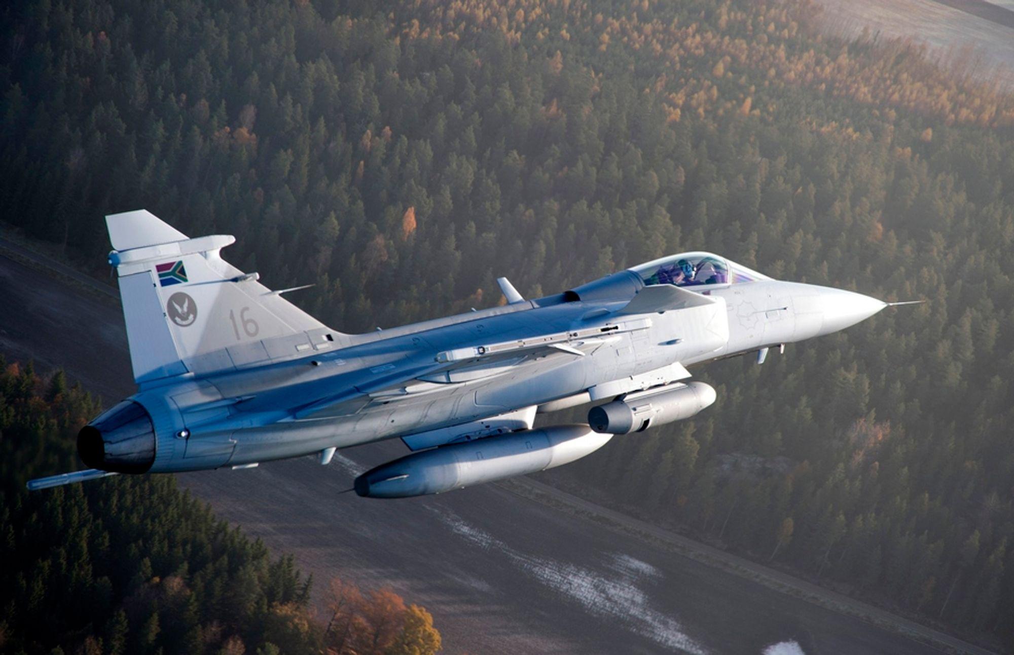 Saab lyktes med å eksportere Gripen til Sør-Afrika, men har nå røket ut av den indiske kampflykonkurransen sammen med Boeing, Lockheed Martin og Mikojan.