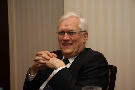 Torbjørn Digernes, rektor ved NTNU