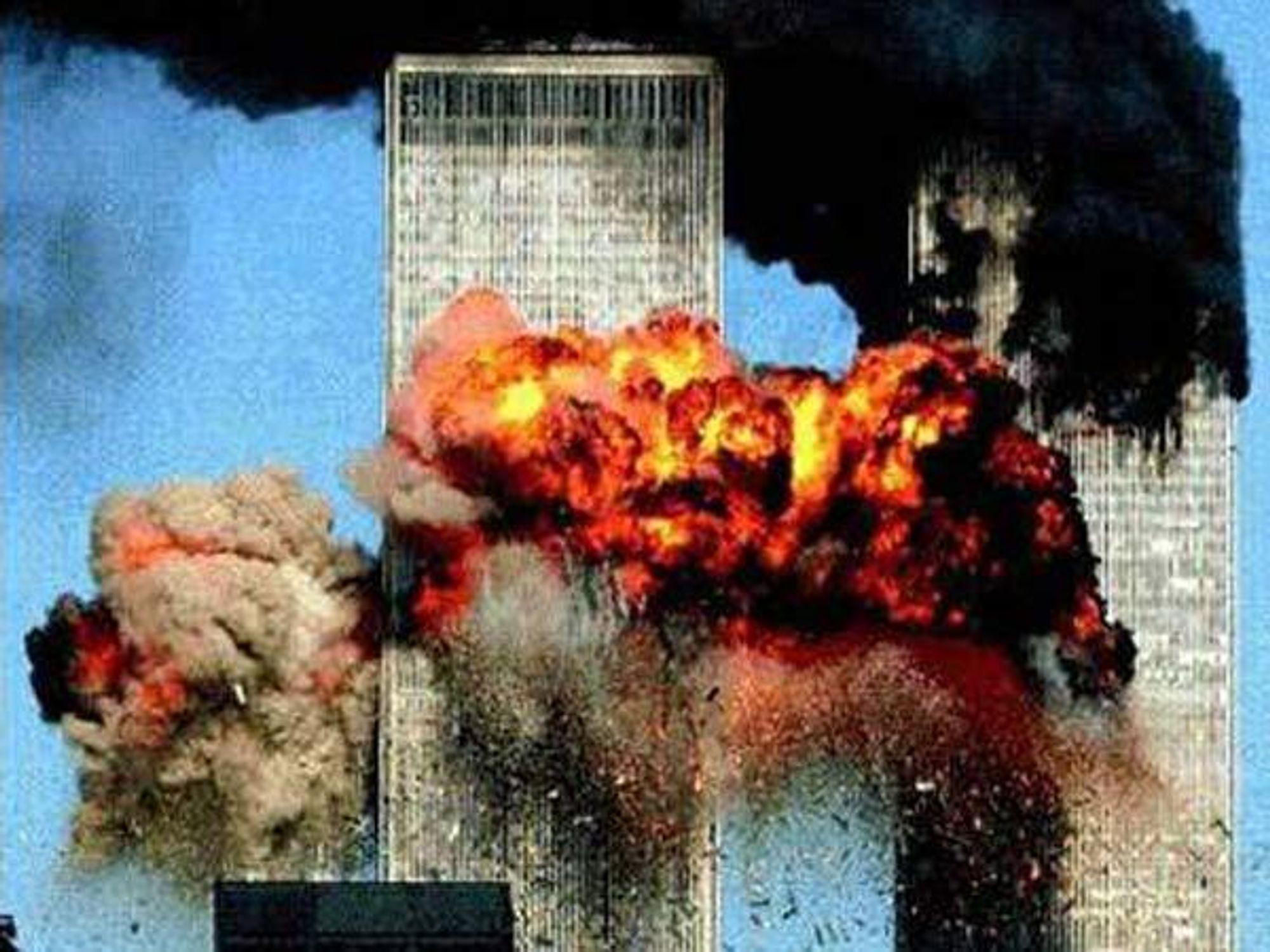 FANT IKKE TRAPPENE: Mange av de som evakuerte WTC-tårnene, visste ikke hvor trappene var.