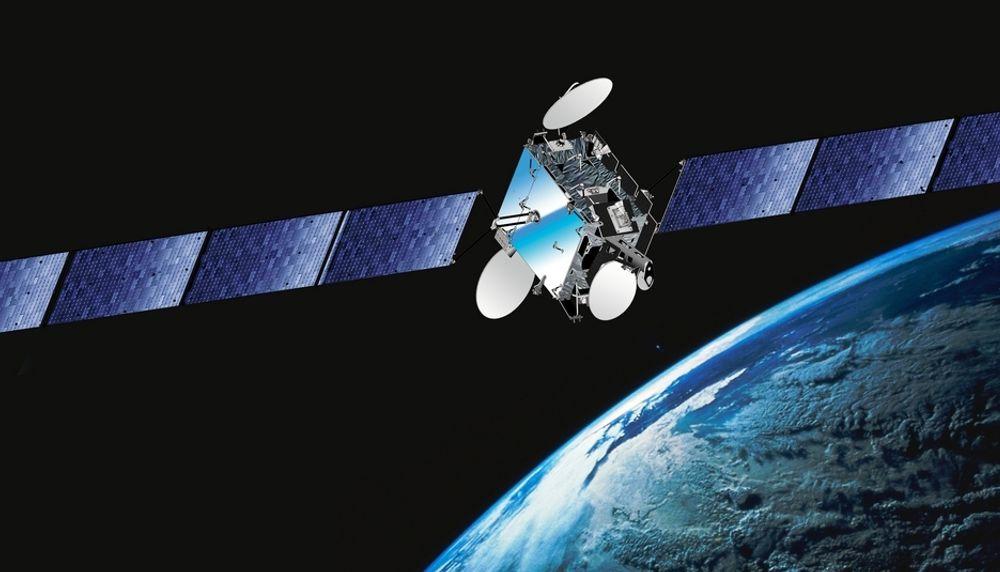BEDRE: Telenors nye THOR7-satellitt skal blant annet gi beboere i Sentral- og Øst-Europa bedre TV-signaler.