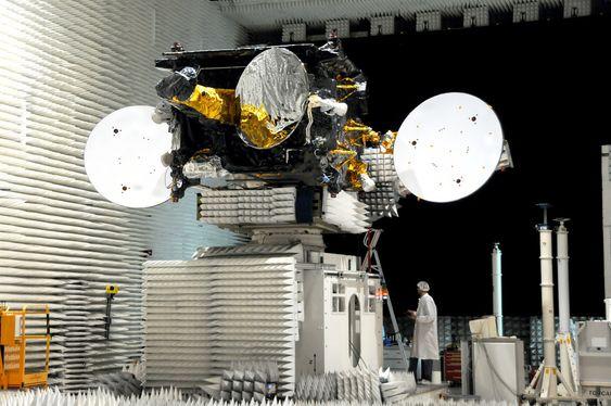 Satellitten Thor 6 hos Telenor Satellite Broadcasting.