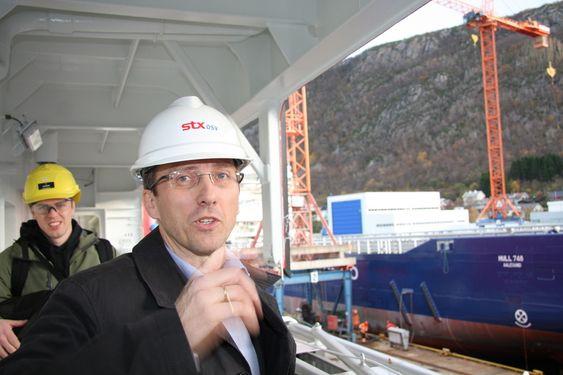 KONKURRANSEMENNESKER: Roy Reite mener norsk maritim industri har et stort konkrransefortinn: Anvendt kompetanse - fagkunnskapen satt ut i livet, uten å vente på sjefsavgjørelser.