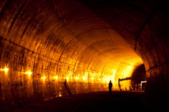 Kjersti Kvalheim Dunham tunnel