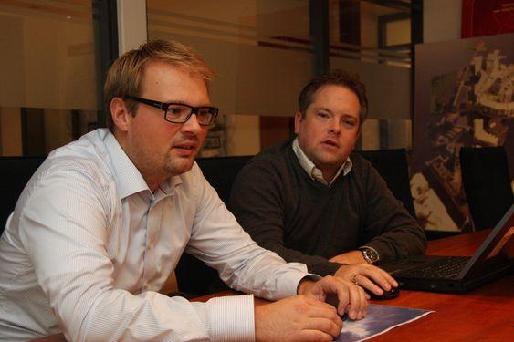 KRTISKE: Direktør for miljø og samfunnsansvar og prosjektleder Thorbjørn Sele i Aspelin Ramm er kritiske til norske leverandører av byggevarer. De søker miljømerkede produkter, men slliter med å finne det.