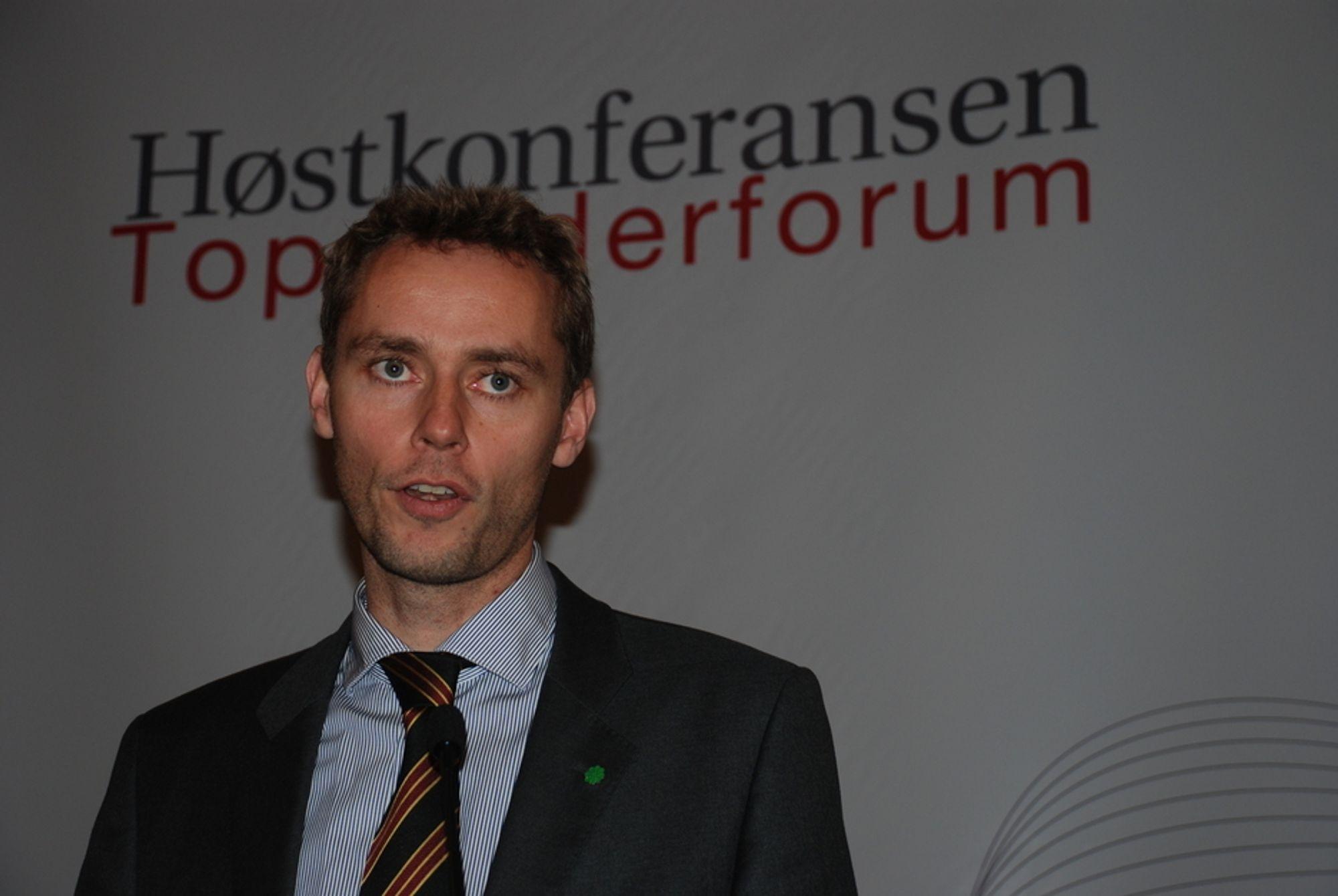 Ola Borten Moe vil bestemme hva norske oljefelt skal hete.