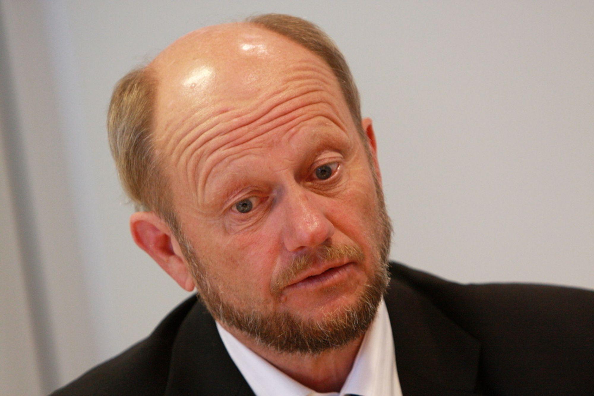 VIL SIKRE INDUSTRIFREMTIDEN: Direktør Stein Lier-Hansen mener et klimatiltaksfond kan trygge norske industriarbeidsplasser.