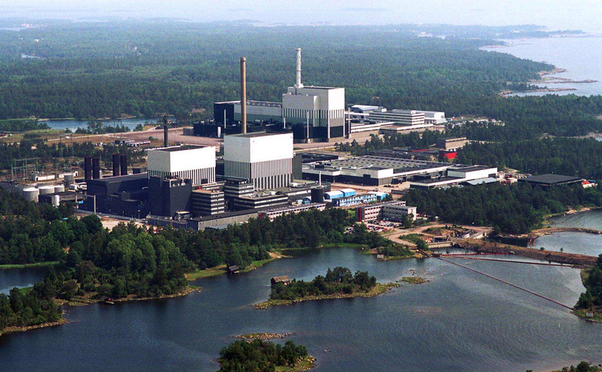 E.On har tre reaktorer på kjernekraftverket i Oskarshamn. Ansatte med kjernekrafterfaring får ikke snakke med media.