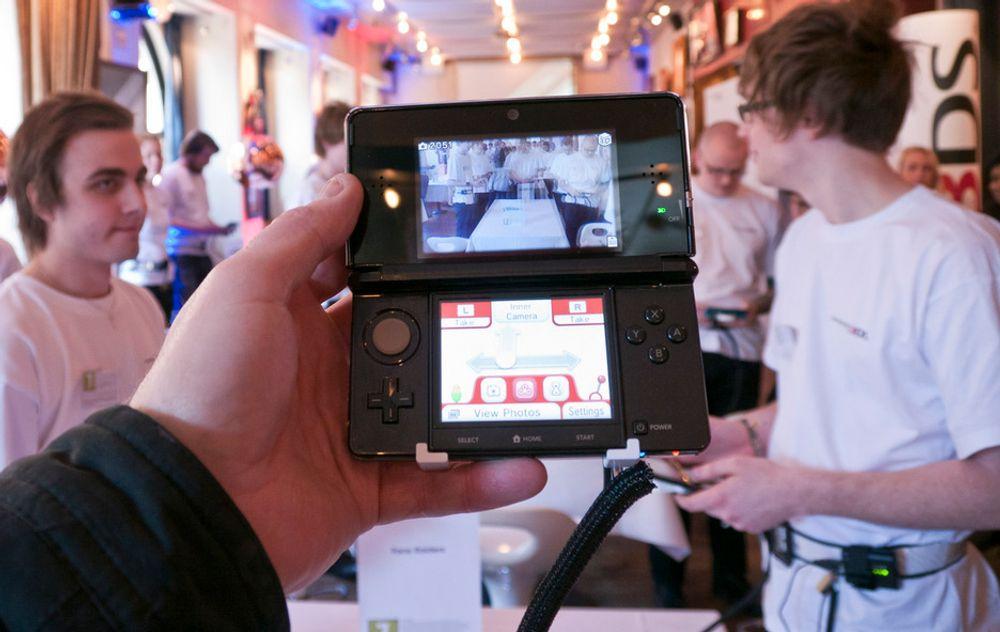 Nintendos nye 3DS kan både vise og ta 3D-bilder.